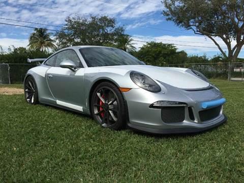 2016 Porsche 911 for sale at The Stables Miami in Miami FL