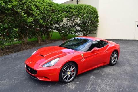 2013 Ferrari California for sale at The Stables Miami in Miami FL
