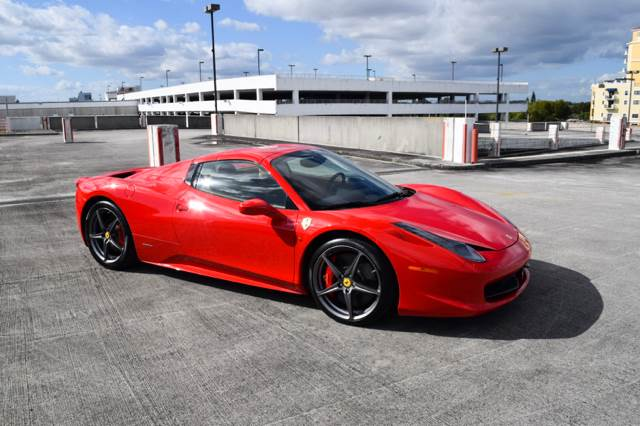 2012 Ferrari 458 Spider 2dr Convertible In Miami FL - The Stables Miami