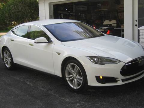 2013 Tesla Model S for sale at The Stables Miami in Miami FL