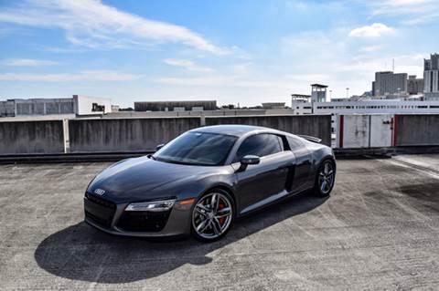 2015 Audi R8 for sale at The Stables Miami in Miami FL