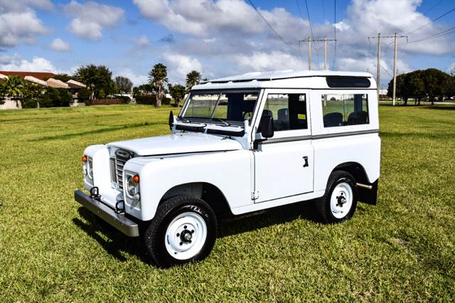 1973 Land Rover Defender Series III   Miami FL