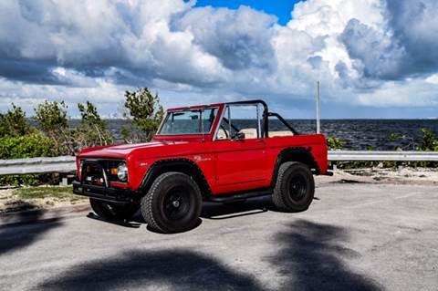 Ford Bronco For Sale In Miami Fl