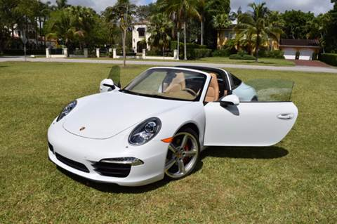 2015 Porsche 911 for sale at The Stables Miami in Miami FL