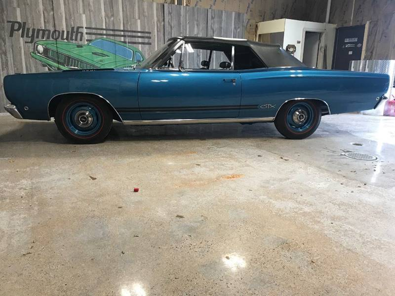 1968 Plymouth GTX for sale at Collector Auto Sales and Restoration in Wausau WI
