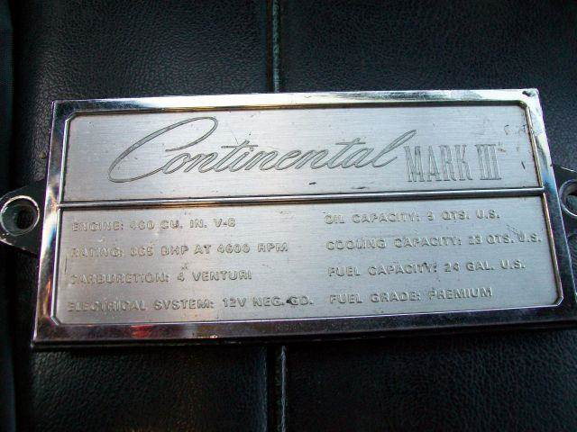 1969 Lincoln Continental for sale at Collector Auto Sales and Restoration in Wausau WI