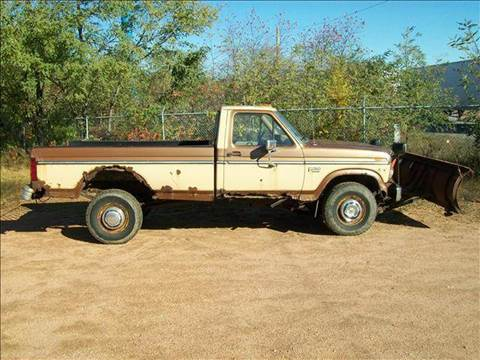 1985 Ford F-250 for sale at Collector Auto Sales and Restoration in Wausau WI