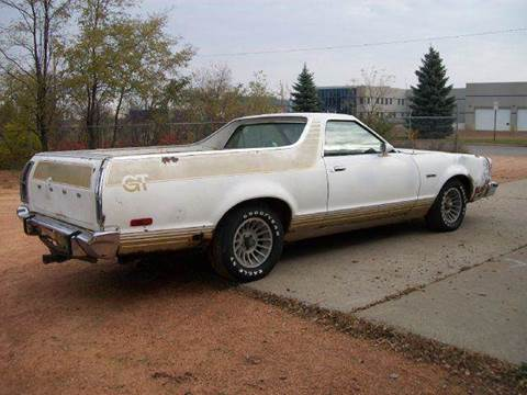 1978 Ford Ranchero for sale at Collector Auto Sales and Restoration in Wausau WI