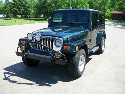 2005 Jeep Wrangler Unlimited for sale at Collector Auto Sales and Restoration in Wausau WI