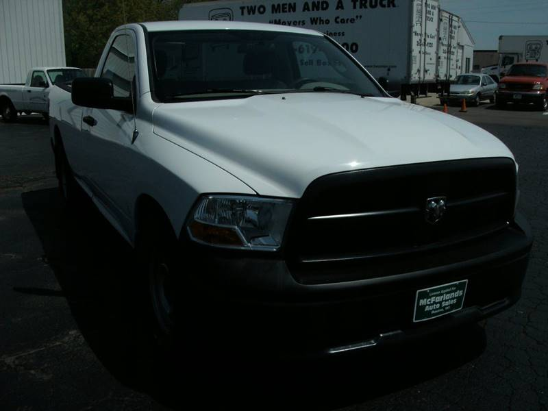 2012 RAM Ram Pickup 1500 4x2 ST 2dr Regular Cab 8 ft. LB Pickup - Racine WI