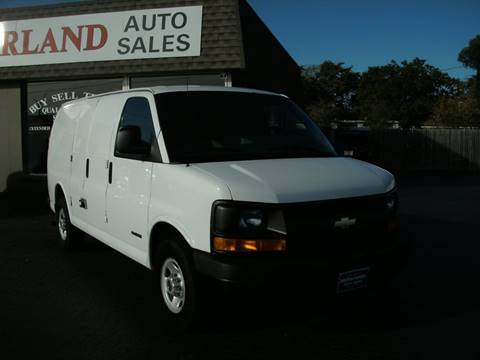 2003 Chevrolet Express Cargo for sale in Racine, WI