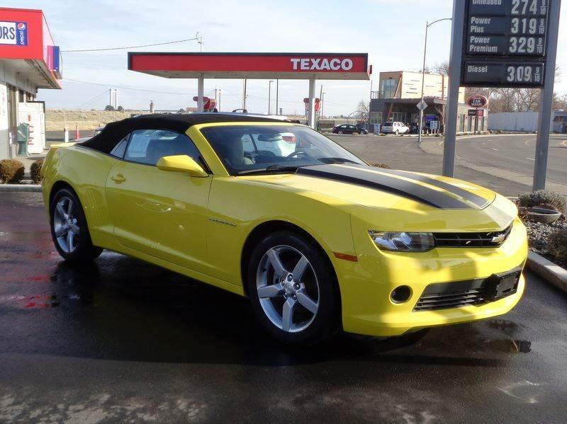 2014 Chevrolet Camaro for sale at John's Auto Mart in Kennewick WA