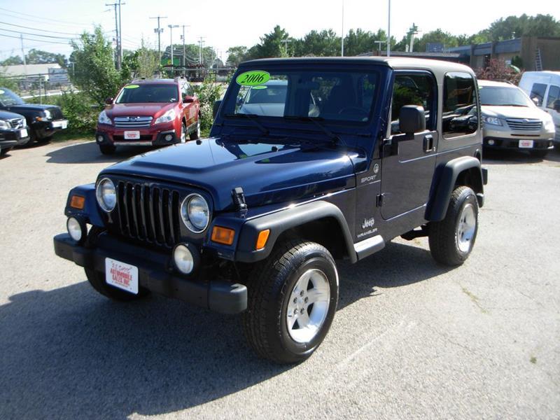 2006 Jeep Wrangler Sport 2dr SUV 4WD   North Hampton NH