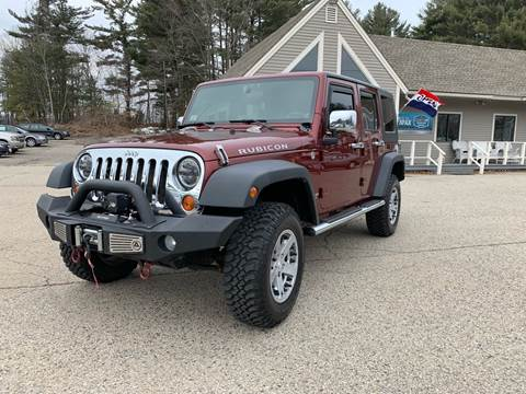 2007 Jeep Wrangler Unlimited for sale in North Hampton, NH