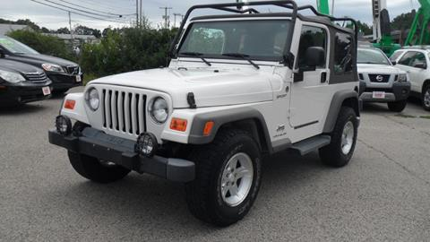 2005 Jeep Wrangler for sale in North Hampton, NH