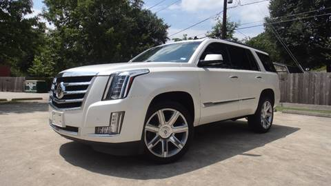 2015 Cadillac Escalade for sale at ECONO CARS in Houston TX