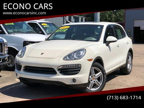 2011 Porsche Cayenne for sale in Houston, TX