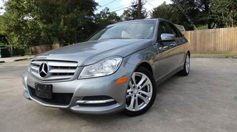 2013 Mercedes-Benz C-Class for sale at ECONO CARS in Houston TX