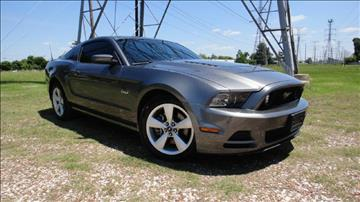 2014 Ford Mustang for sale at ECONO CARS in Houston TX
