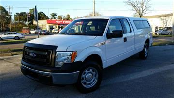 2014 Ford F-150 for sale at ECONO CARS in Houston TX