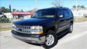 2005 Chevrolet Tahoe for sale at ECONO CARS in Houston TX
