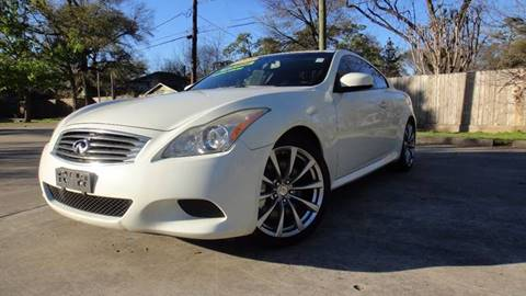 2008 Infiniti G37 for sale at ECONO CARS in Houston TX