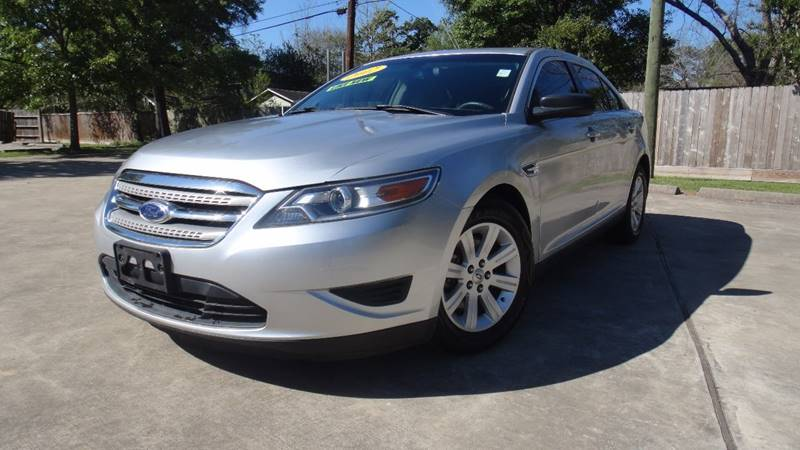2012 Ford Taurus for sale at ECONO CARS in Houston TX