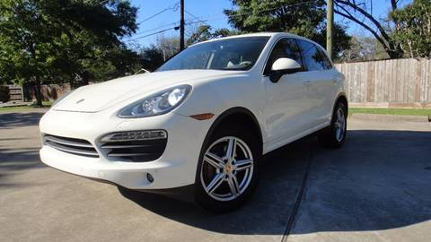 2011 Porsche Cayenne for sale at ECONO CARS in Houston TX