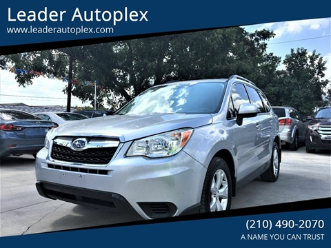 2014 Subaru Forester for sale in San Antonio, TX