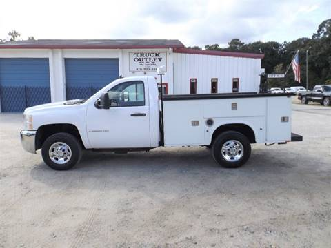 2008 Chevrolet Silverado 2500HD for sale in Kathleen, GA