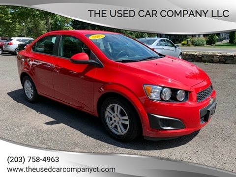 2012 Chevrolet Sonic for sale in Prospect, CT