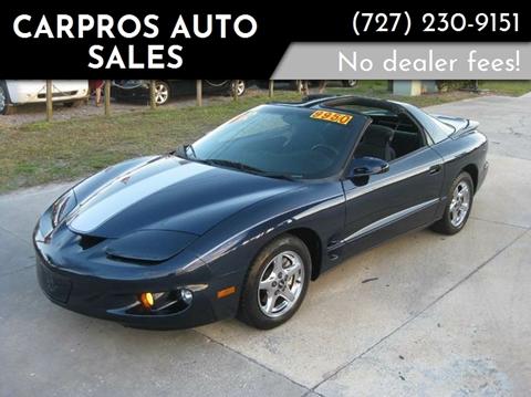 2002 Pontiac Firebird for sale in Largo, FL