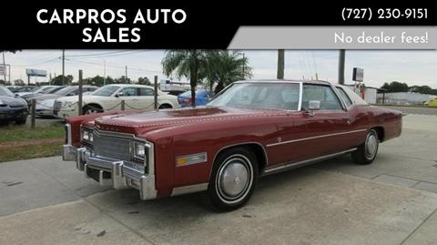 1977 Cadillac Eldorado for sale in Largo, FL