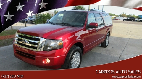 2013 Ford Expedition EL for sale in Largo, FL