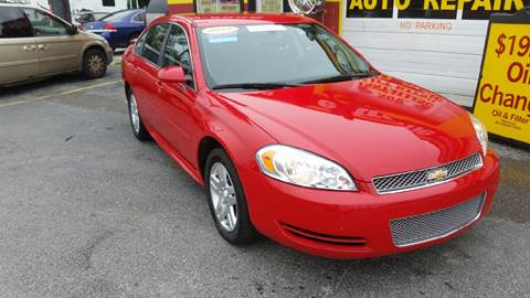 2012 Chevrolet Impala for sale in Plainfield, IN