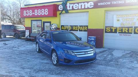 2012 Ford Fusion for sale at Extreme Auto Sales in Plainfield IN