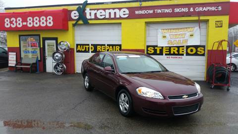 2007 Chevrolet Impala for sale at Extreme Auto Sales in Plainfield IN