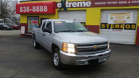 2013 Chevrolet Silverado 1500 for sale at Extreme Auto Sales in Plainfield IN