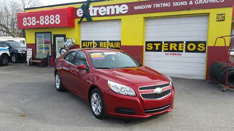 2013 Chevrolet Malibu for sale at Extreme Auto Sales in Plainfield IN