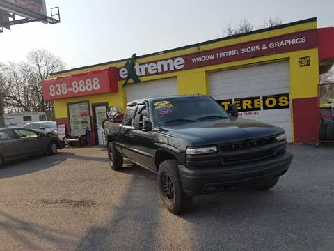 2002 Chevrolet Silverado 1500 for sale at Extreme Auto Sales in Plainfield IN