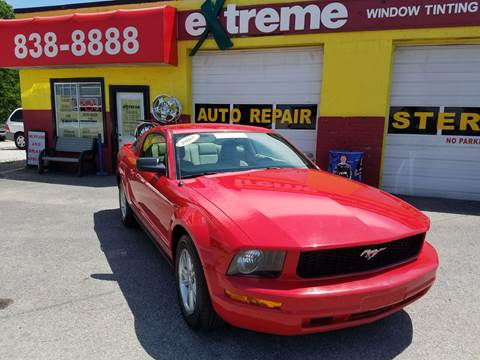 2007 Ford Mustang for sale at Extreme Auto Sales in Plainfield IN