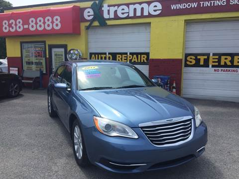 2011 Chrysler 200 for sale at Extreme Auto Sales in Plainfield IN