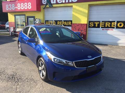 2018 Kia Forte for sale at Extreme Auto Sales in Plainfield IN