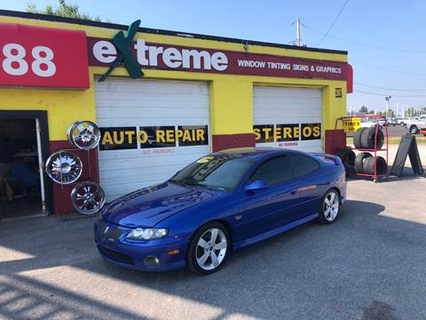 2005 Pontiac GTO for sale at Extreme Auto Sales in Plainfield IN
