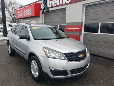 2014 Chevrolet Traverse for sale at Extreme Auto Sales in Plainfield IN