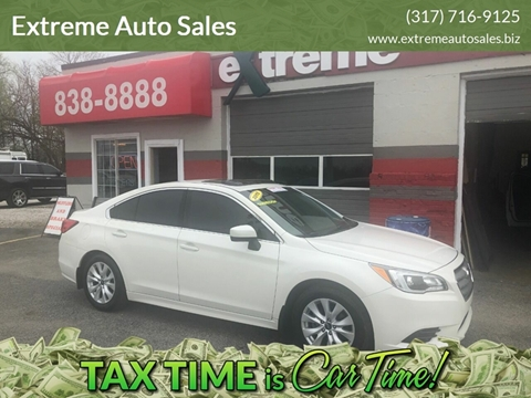 2015 Subaru Legacy for sale at Extreme Auto Sales in Plainfield IN