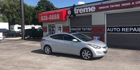 2012 Hyundai Elantra for sale at Extreme Auto Sales in Plainfield IN