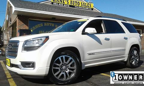 2014 GMC Acadia for sale in Manchester, NH