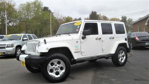 2013 Jeep Wrangler Unlimited for sale in Manchester, NH