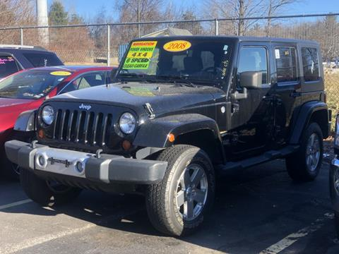 2008 Jeep Wrangler Unlimited for sale in Manchester, NH
